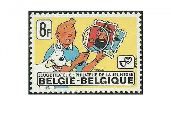 Briefmarken Belgien 1000 verschiedene Marken postfrisch und gestempelt