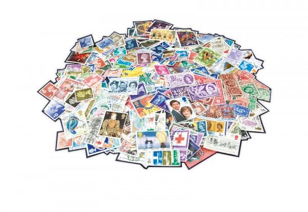 Briefmarken Großbritannien 200 Marken postfrisch und gestempelt