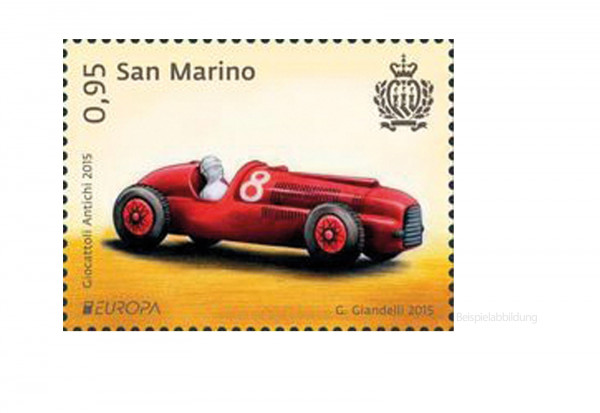 500 Marken San Marino postfrisch und gestempelt
