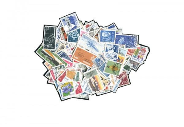 Briefmarken Schweden 1000 Marken postfrisch und gestempelt