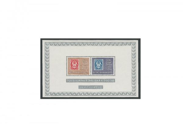 Briefmarken Norwegen Block 1 postfrisch