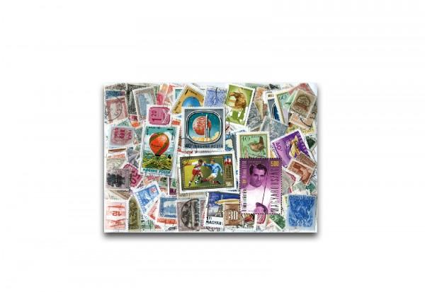 Briefmarken Ungarn 500 verschiedene Marken postfrisch und gestempelt