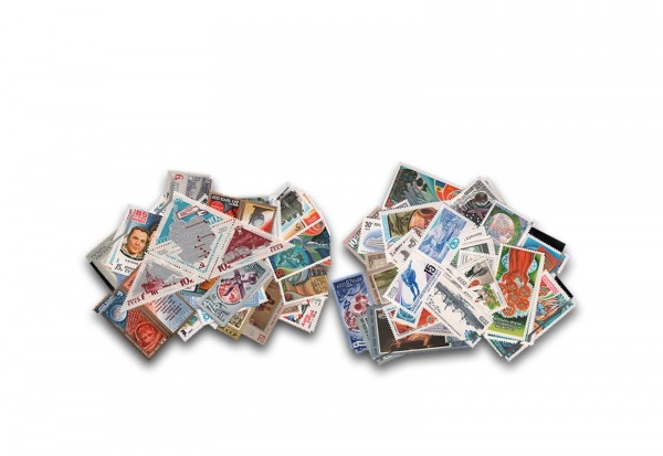 Briefmarken Sowjetunion 300 Marken im Set