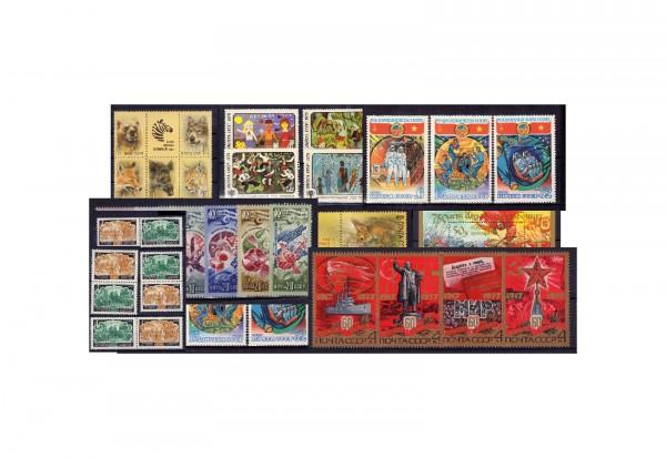 40 Steckkarten mit Russland postfrisch