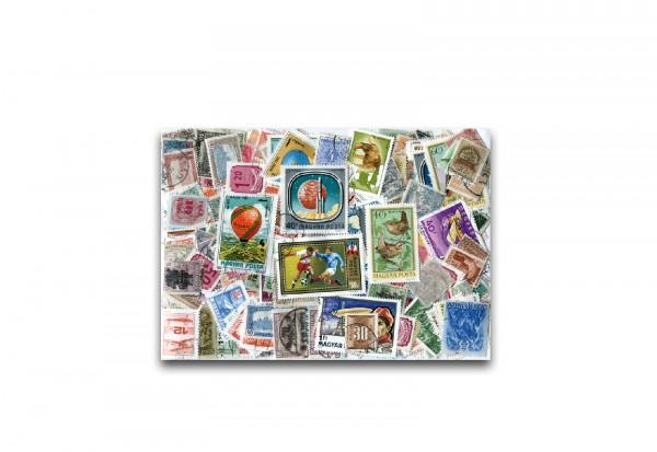Briefmarken Ungarn 2000 verschiedene Marken gestempelt