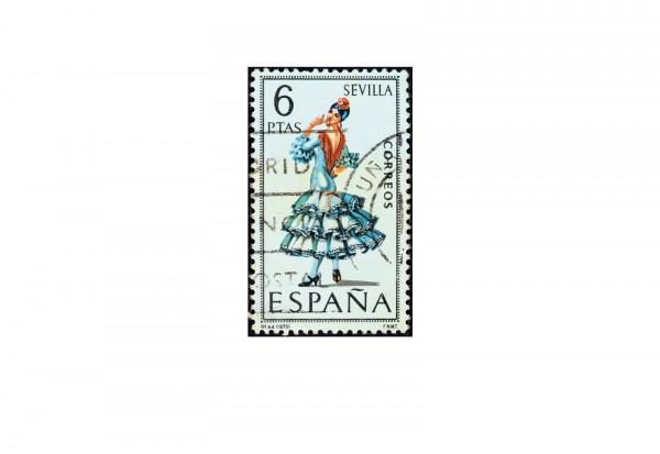 500 Marken Spanien postfrisch/gestempelt