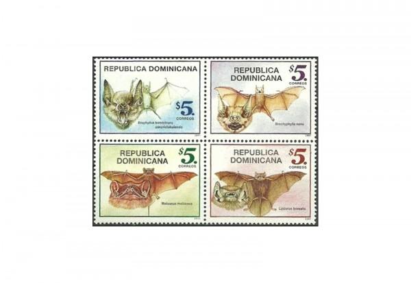 100 Marken Dominikanische Republik postfrisch/gestempelt