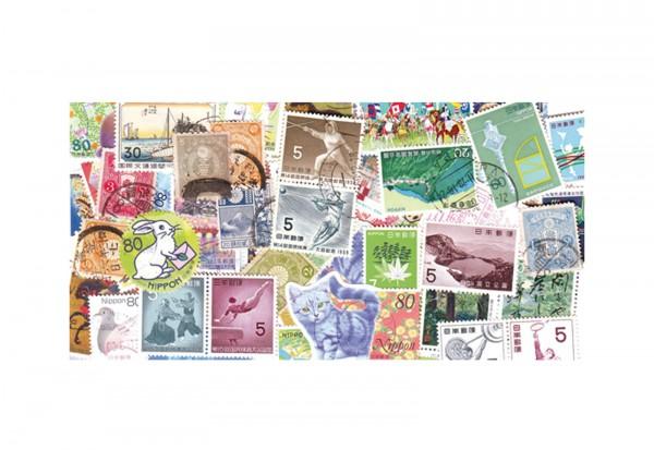 Briefmarken Japan 200 Marken postfrisch und gestempelt