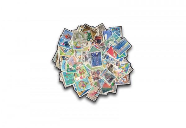 Briefmarken Japan 500 verschiedene Ausgaben gestempelt und postfrisch