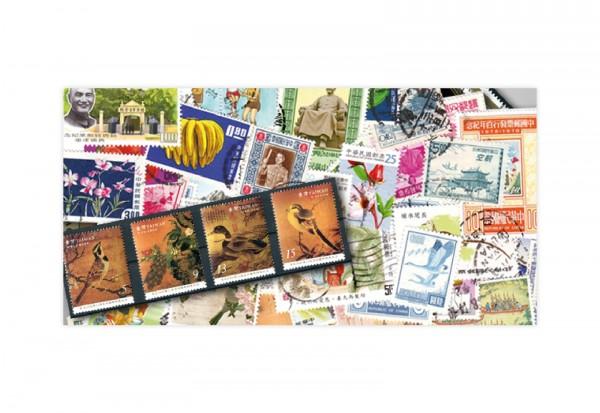 Taiwan 500 verschiedene Briefmarken