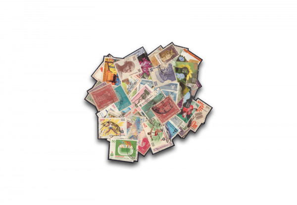 Briefmarken Indien 500 Marken postfrisch und gestempelt