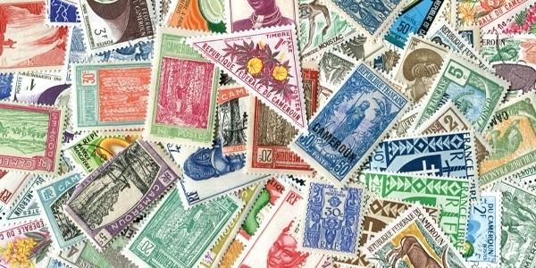 Kamerun 100 verschiedene Briefmarken postfrisch/gestempelt