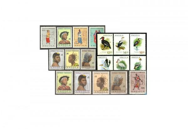 Angola 50 Marken postfrisch und gest.