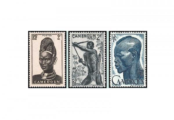 Kamerun 50 Briefmarken postfrisch/gestempelt
