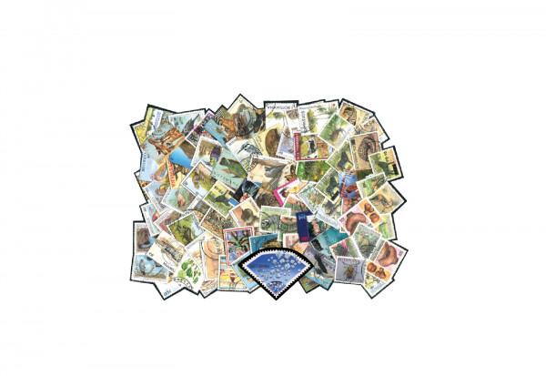 Briefmarken Botswana 25 verschiedene Marken postfrisch und gestempelt