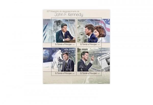 Briefmarken Kennedy 25 Marken postfrisch und gestempelt