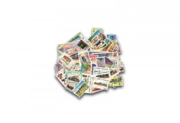Briefmarken Alle Welt Eisenbahn 500 verschiedene Marken