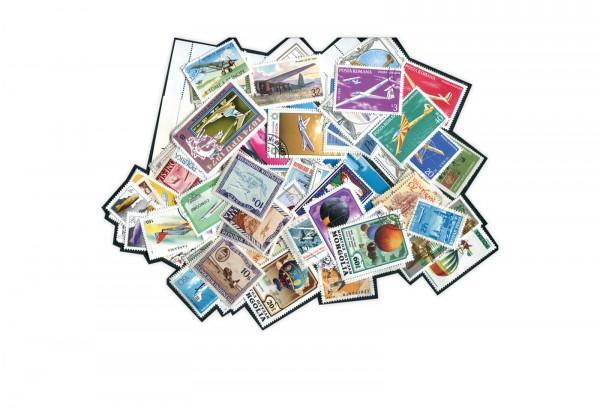 Motiv Flugzeuge Segelflieger 25 verschiedene Briefmarken