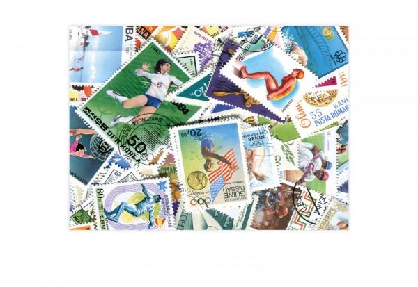 1000 Briefmarken Sport-Motive postfrisch/gestempelt inklusive Blocks