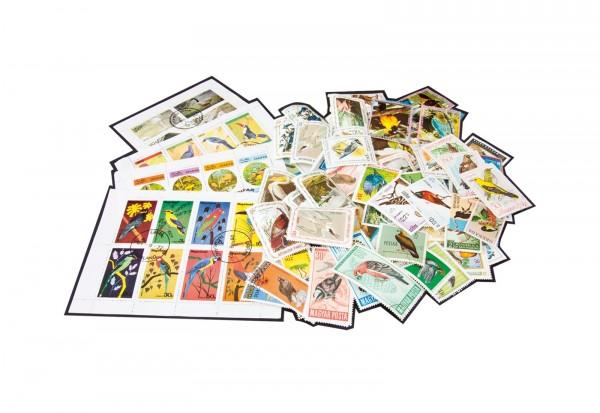 Briefmarken 200 Vögel postfrisch und gestempelt