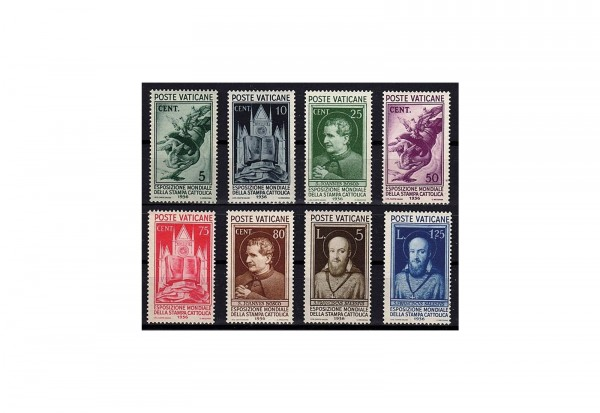 BriefmarkenVatikan Weltausstellung 1935 Michel-Nr. 51-58 postfrisch