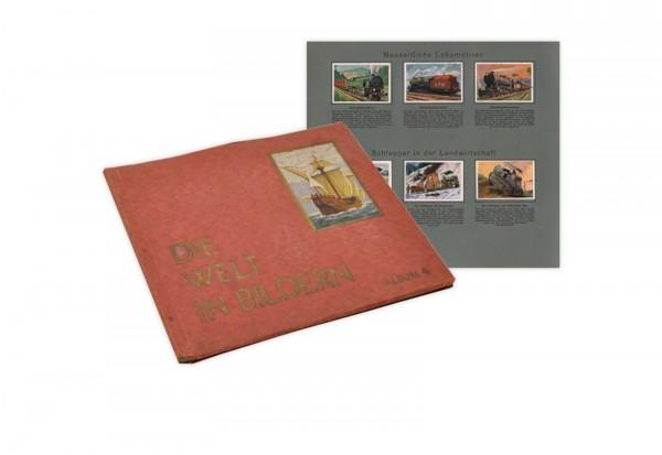 Die Welt in Bildern Album Nr.4 Sammelbilderalbum