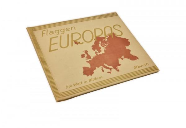 Flaggen Europas Album Nr. 6 Sammelbilder Weimarer Republik
