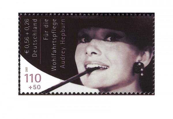 Briefmarken Faksimile Audrey Hepburn