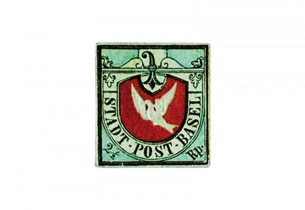 Faksimile Schweiz Basler Taube Mi.Nr. 1