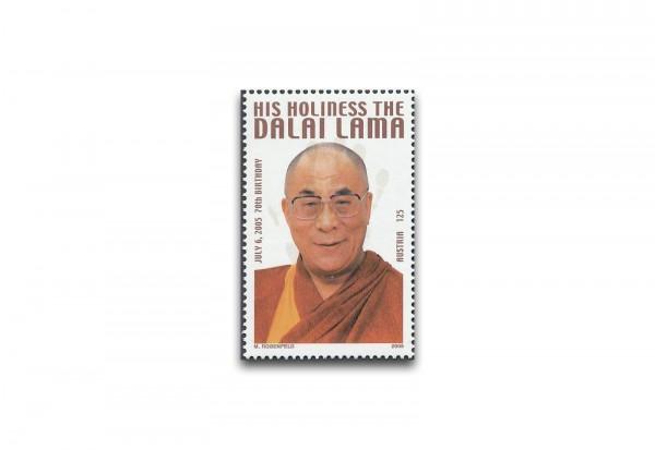 Faksimile Österreich 2005 Dalai Lama