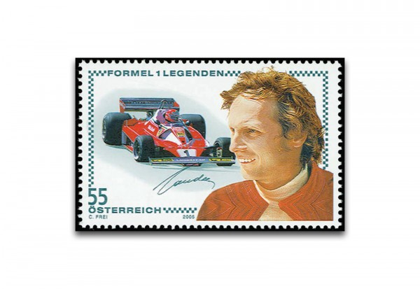 Faksimile Österreich 2005 Niki Lauda