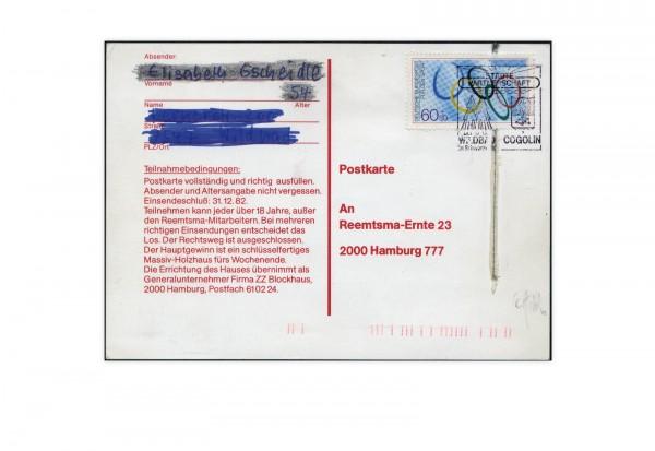 Faksimile BRD 1982 Gscheidle-Marke