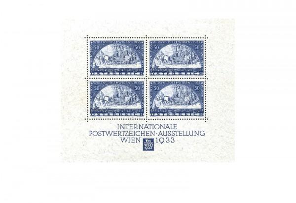 Faksimile Österreich 1933 WIPA Block 1